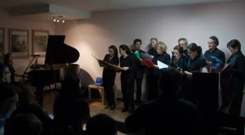 Coro MusicArt cantando
